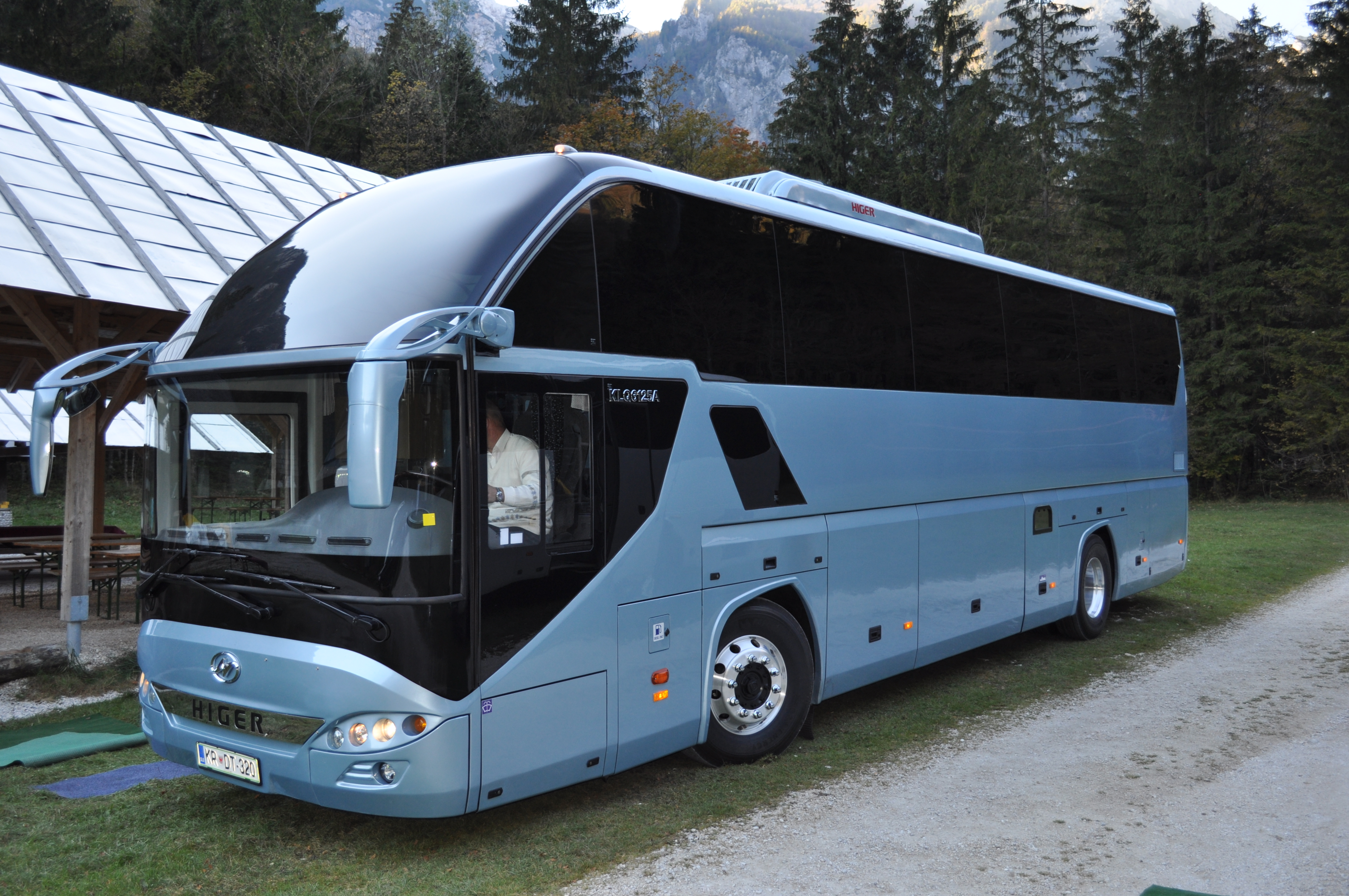 Klq6125higer Bus Banja Luka Bosna I Hercegovina Higer
